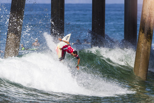 28 Maxime Hucenot Vans US Open of Surfing Foto WSL Sean Rowland