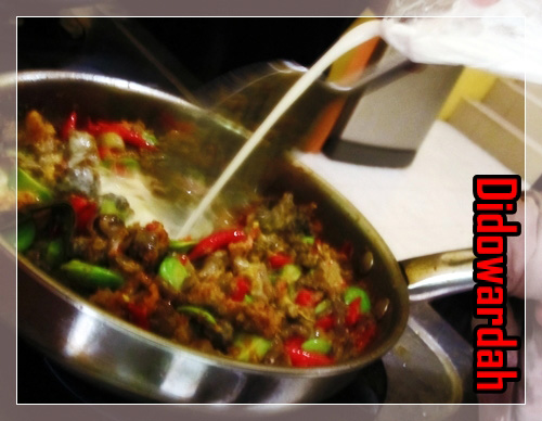 Resep sudah diujicobakan di dapur Didowardah.