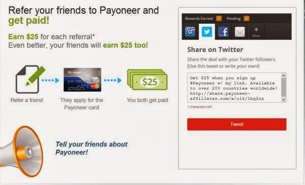 За каждого нового клиента Вы получите 25$.