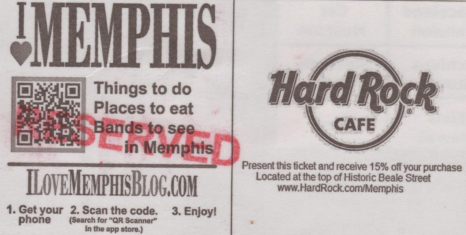 Memphis tn coupons