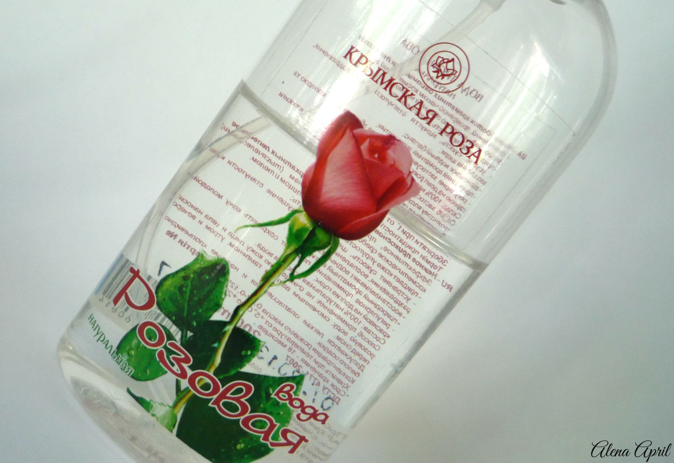 Вода Розовая натуральная, комбинат Крымская роза