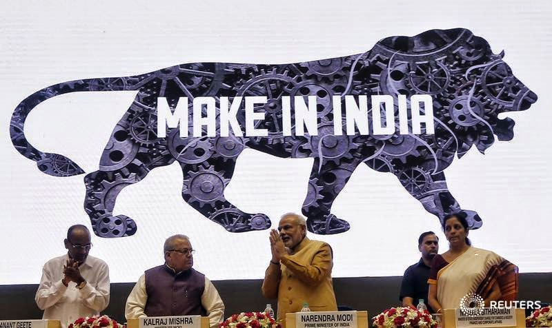 "PM Modi's child project ""Make in India"""