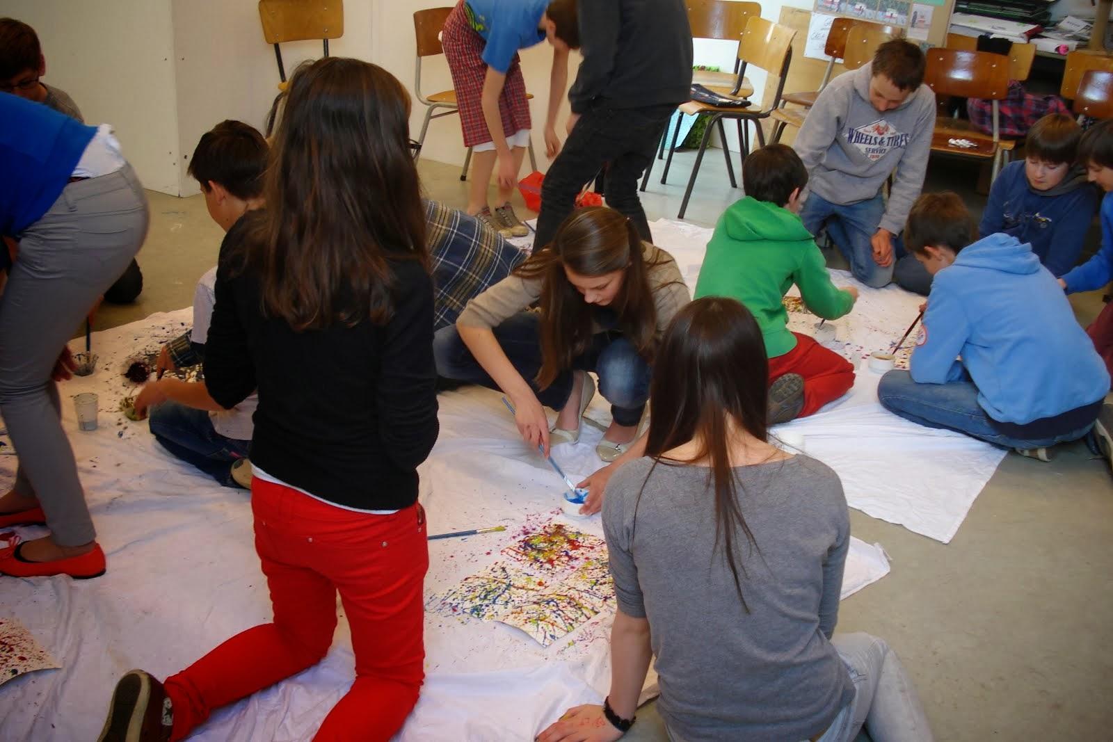 Plastische opvoeding: Heilig Hartcollege Tervuren