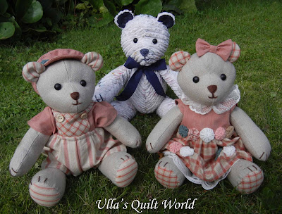 Ullas Quilt World Teddy Bear Quilt And Pattern