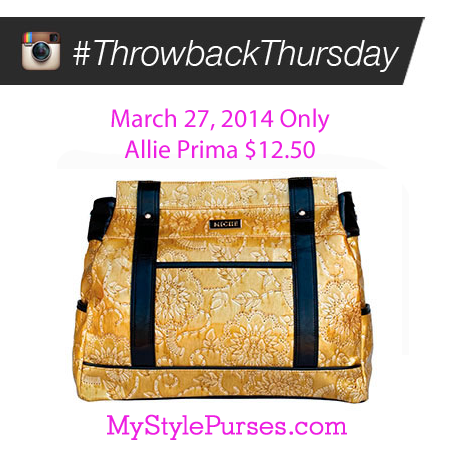 Miche Throwback Thursday March 27, 2014 - Allie Prima Shell $12.50 | Shop MyStylePurses.com