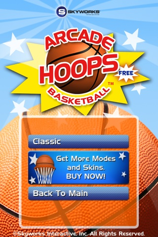 Arcade Hoops Basketball Free App Game By Skyworks