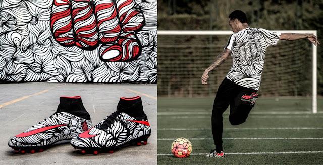 Nike presenta las nuevas botas de Neymar