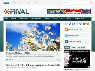 Rival Blogger Template