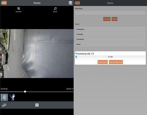 Aplikasi edit video android - klipmix