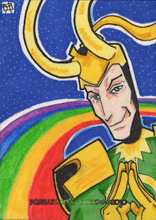 loki, sketch card, j(ay)