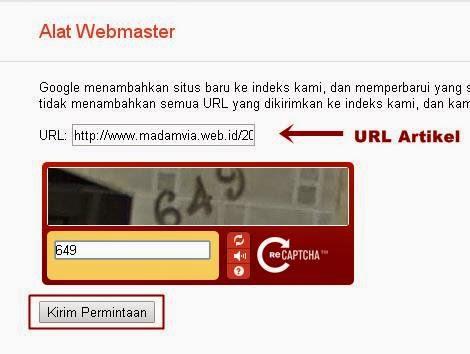 Cara Agar Artikel Cepat Terindex Google Dalam 1 Detik