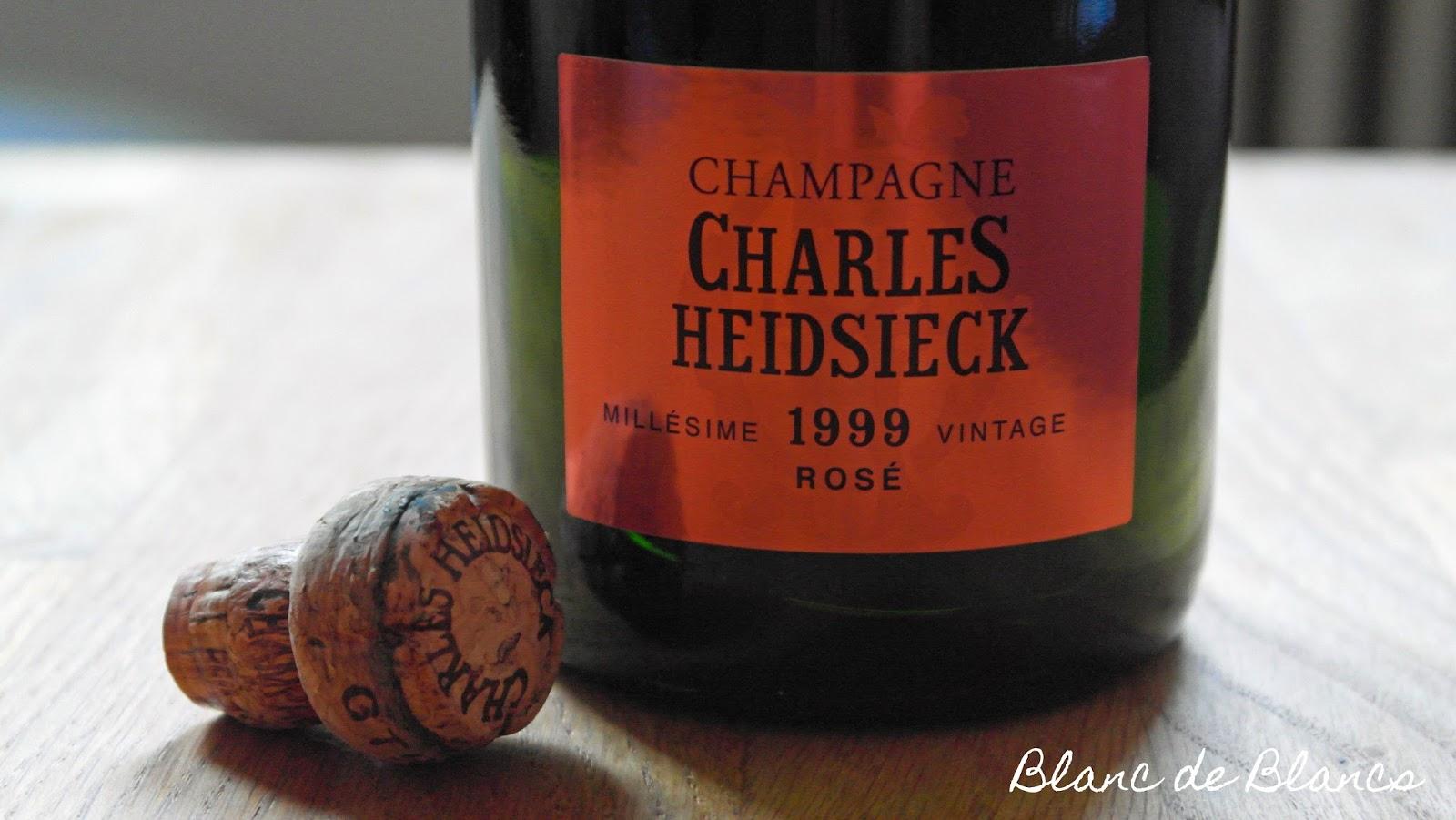 Charles Heidsieck Rosé Millésime 1999 - www.blancdeblancs.fi
