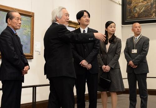 Akishino-no-miya Fumihito Shinno, born 30 November 1965 is a member of the Japanese imperial family.