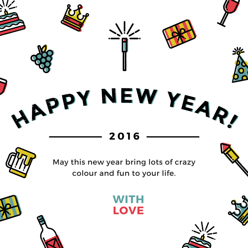 Happy New Year 2016 In Hindi (Picture Quotes) - Best Hindi shayari ...