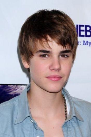 Coiffure de Justin Bieber