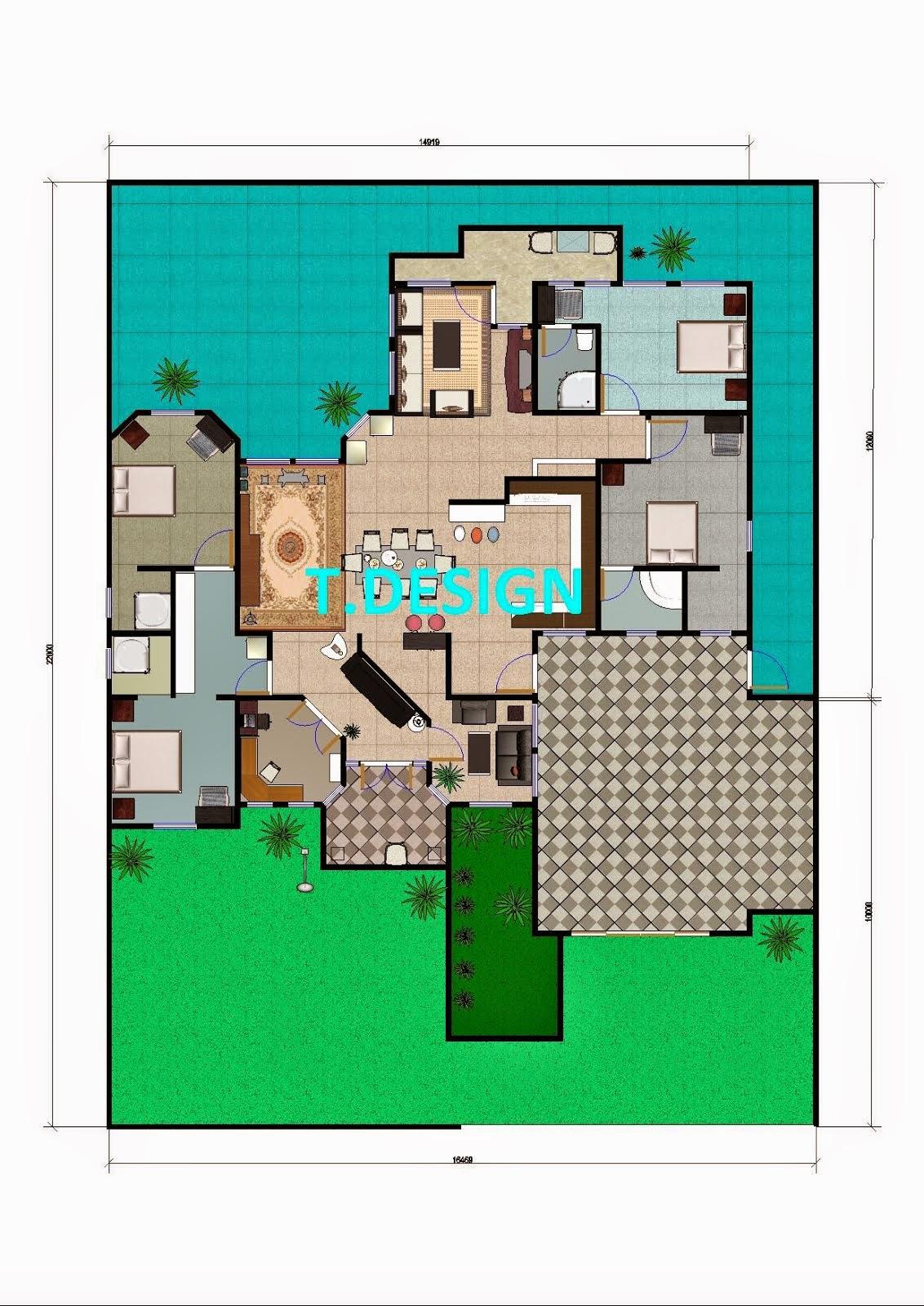 Gambar Desain Rumah Dgn Lahan Sempit Contoh Hu