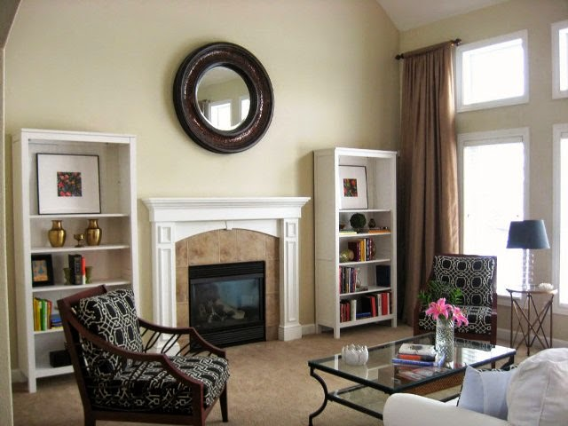 Neutral interior paint color ideas for Neutral tone living room ideas