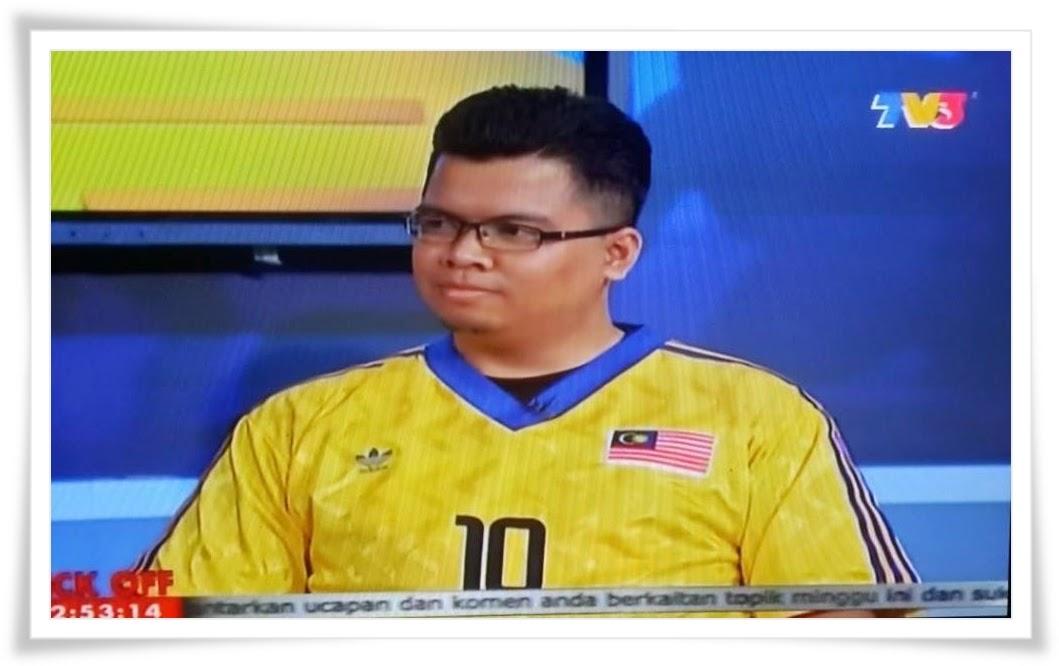 Kenangan temubual Scoreboard, TV3 - Piala Malaysia 2013.