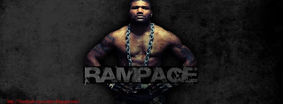 Couverture facebook ufc rampage