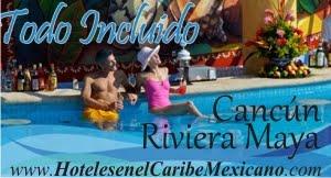 Hoteles en el Cancún y Riviera.