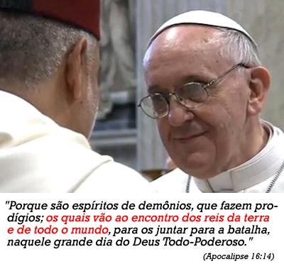 """Papa afirma: Deus concluirá o milagre """"de unificação das igrejas"""""""