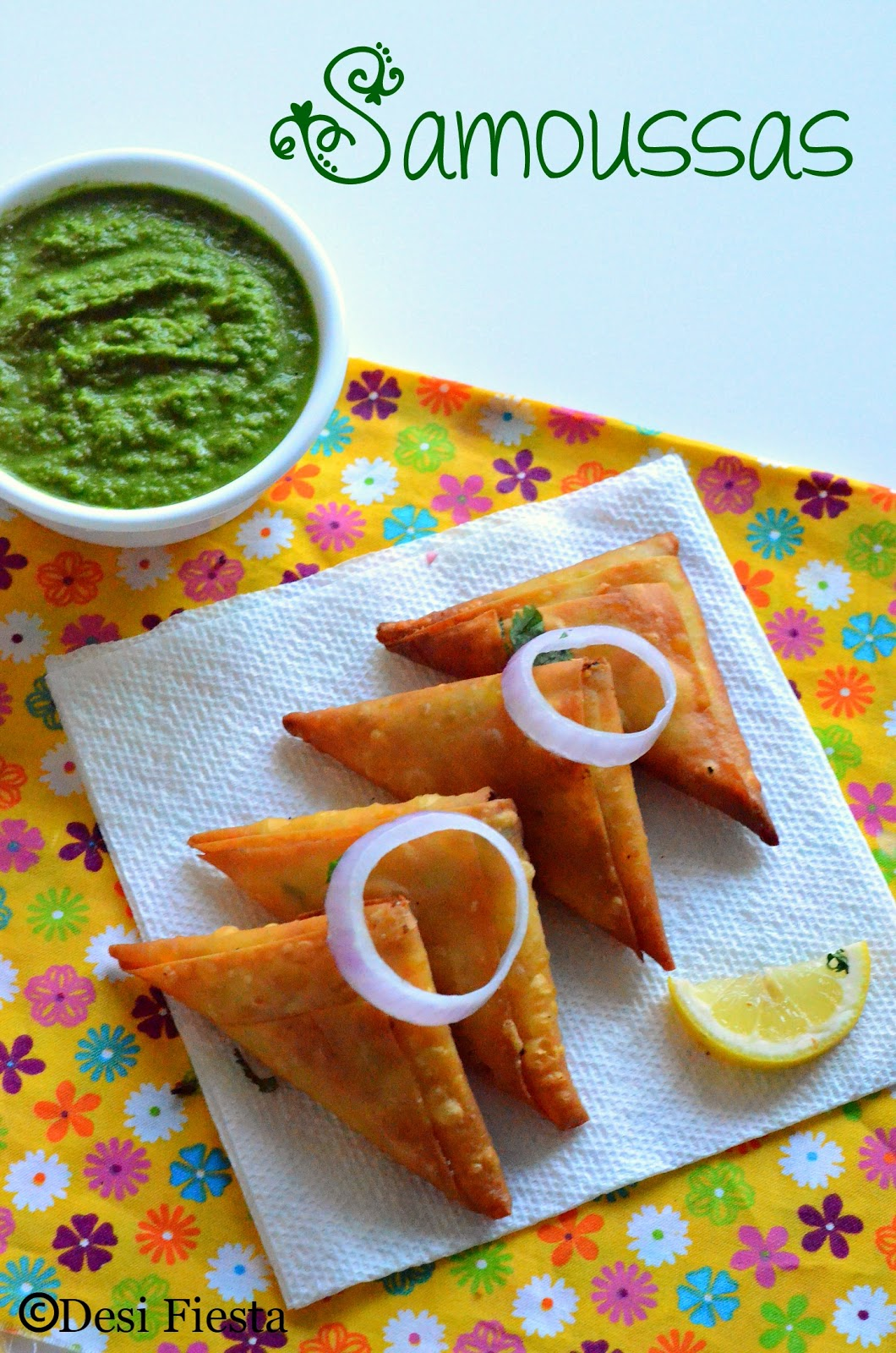 Reunionnaise samosa recipes