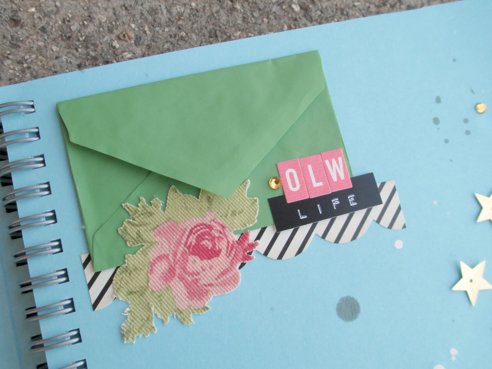precocious paper  this also includes being creative leftovers from my everyday life i ve already saved an opened envelope from this week s mail and a tag from a pair of