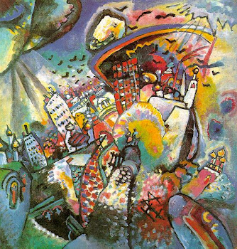 Kandinsky &#39;Moscow&#39; (1916)