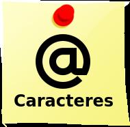 Símbolos e Caracteres especiais para Teclado
