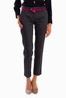 Pantaloni gri petrol din stofa SR062GH (Ama Fashion)