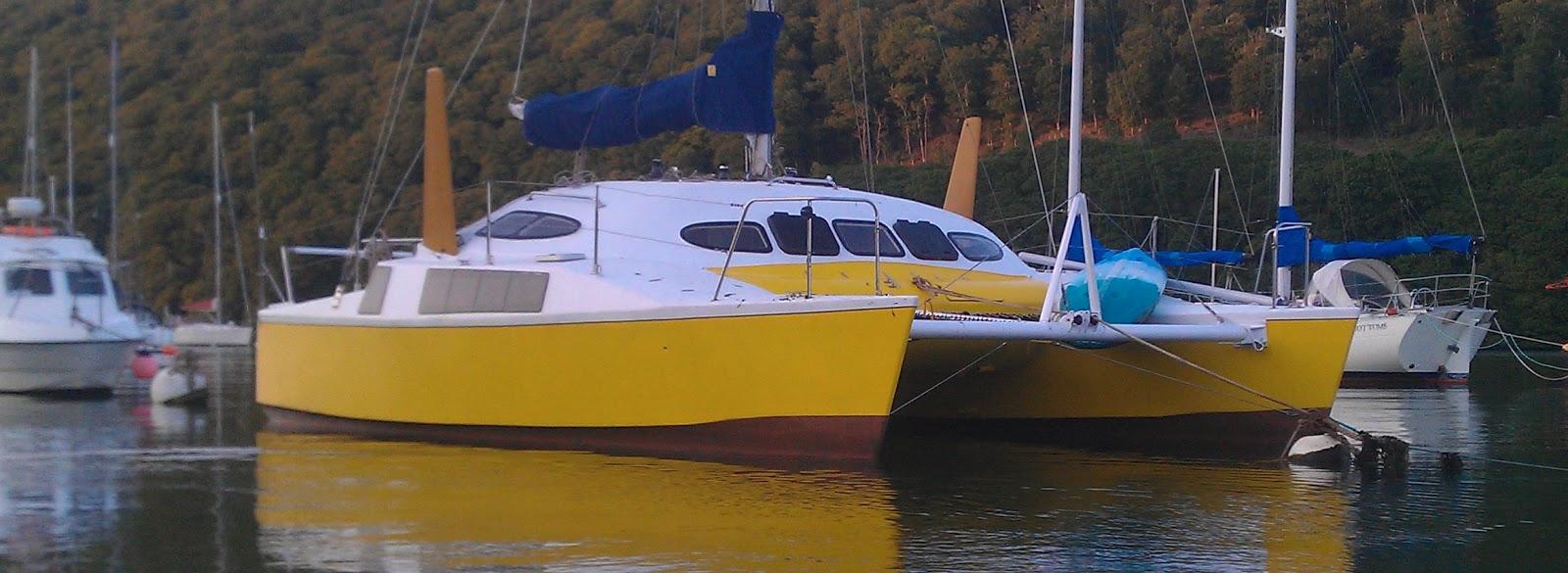 Robert richard woods catamarans how to building plans Richard woods designs