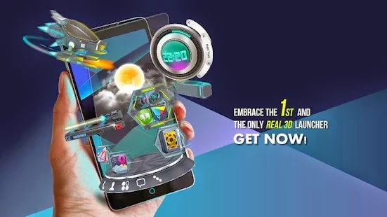 Next Launcher 3D Shell Full Apk 3.10 İndir