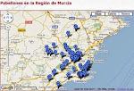 Pabellones Región de Murcia