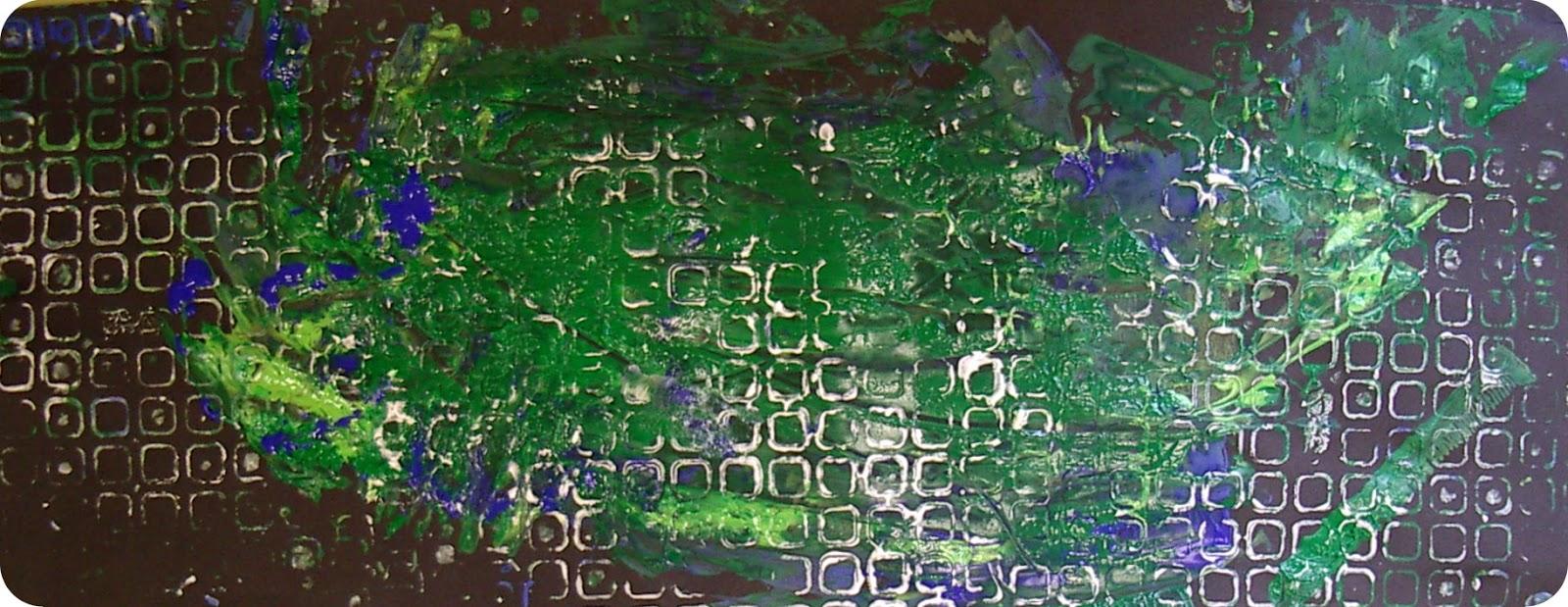 Micka lle delam eveil la peinture peindre sans for Peinture a la spatule