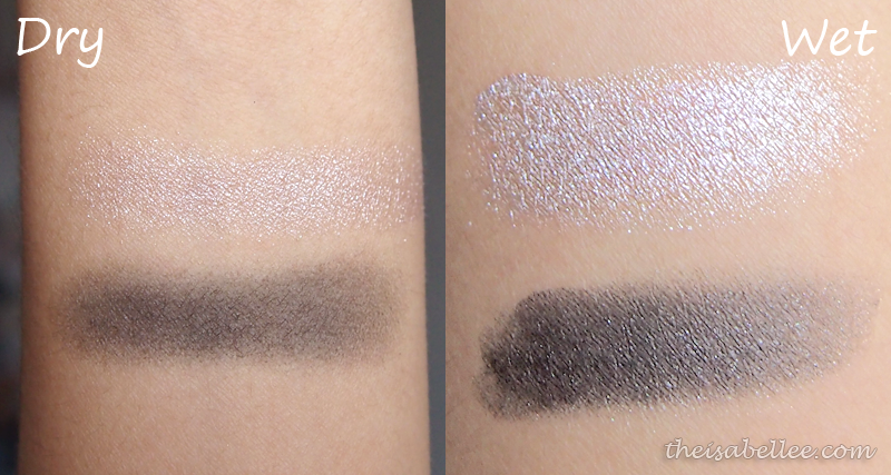 NARS Dual-Intensity Eyeshadow swatches
