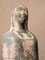 Goddess figure.