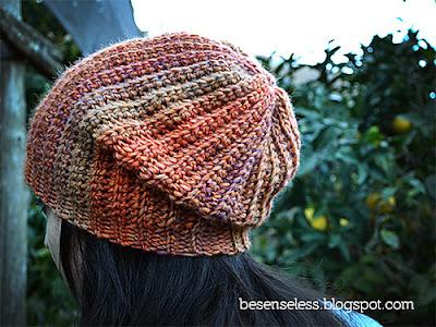 free crochet pattern slouchy hat