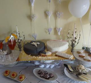 torta sposi per festeggiare 39 anni di vita insieme!!**