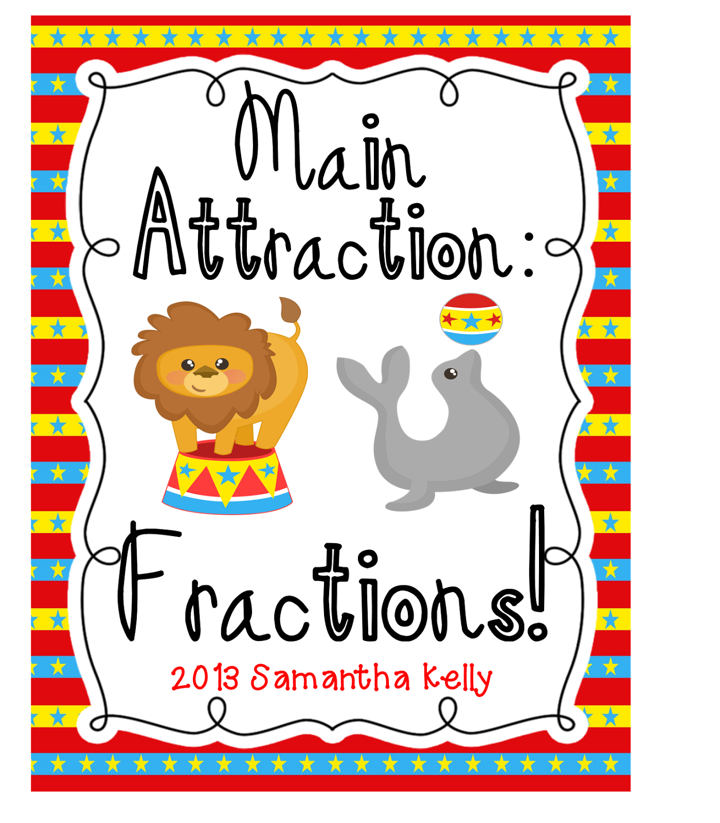 Mrs. Kelly's Klass: Tons of Fraction FUN, Freebie, and a SALE! :)