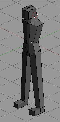 tutorial modeling karakter manusia simpel  5