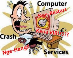 penyebab komputer mati sendiri