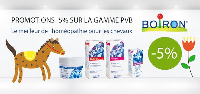 Promotion PVB Boiron homéopathie chevaux