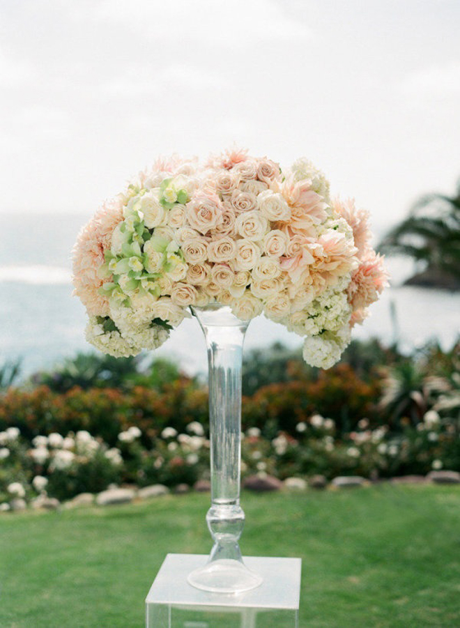 10 steal worthy flower arrangements for your wedding ceremony belle