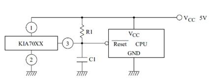 Hình 25 - KIA70xx tạo tín hiệu Reset để khởi động CPU