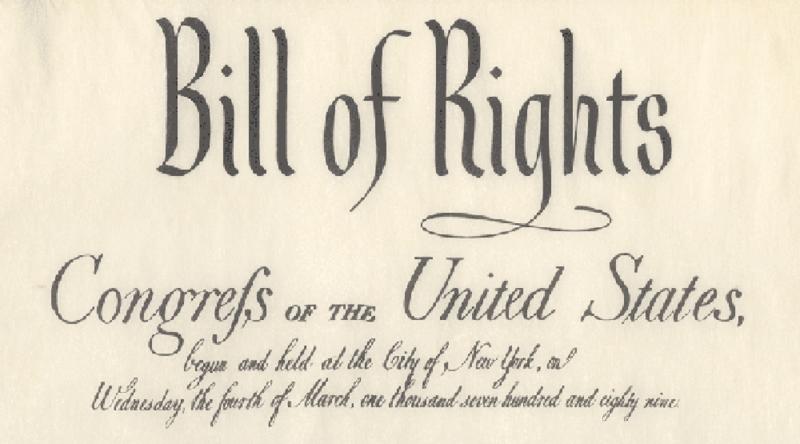 Rees Lloyd: Liberty Milestone: Dec 15, 1791-Bill of Rights Day ...