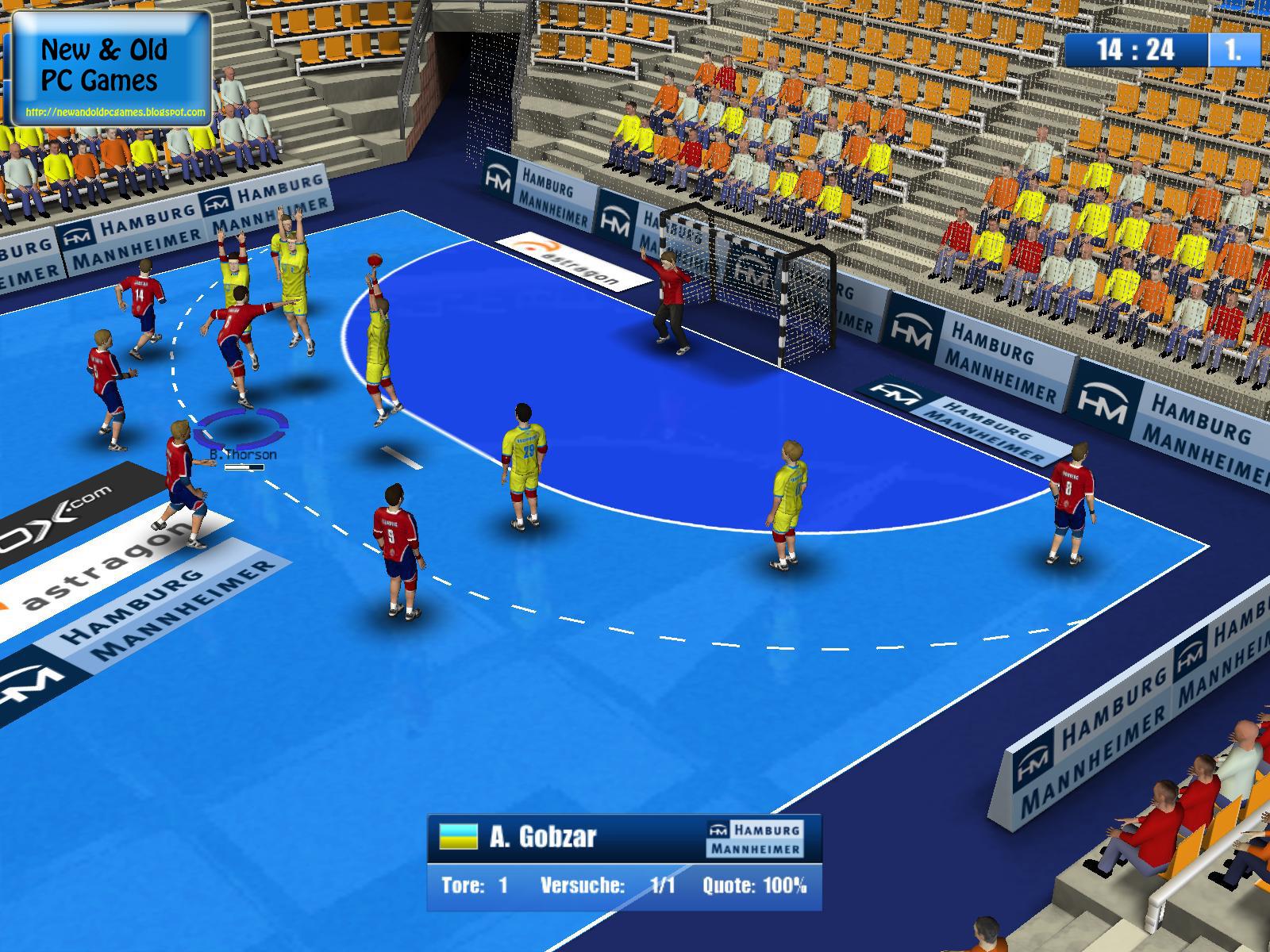 2 Kişilik Hentbol Ligi Oyunu