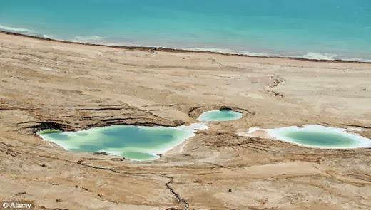 Será que o Mar Morto pode ser engolido por um buraco?