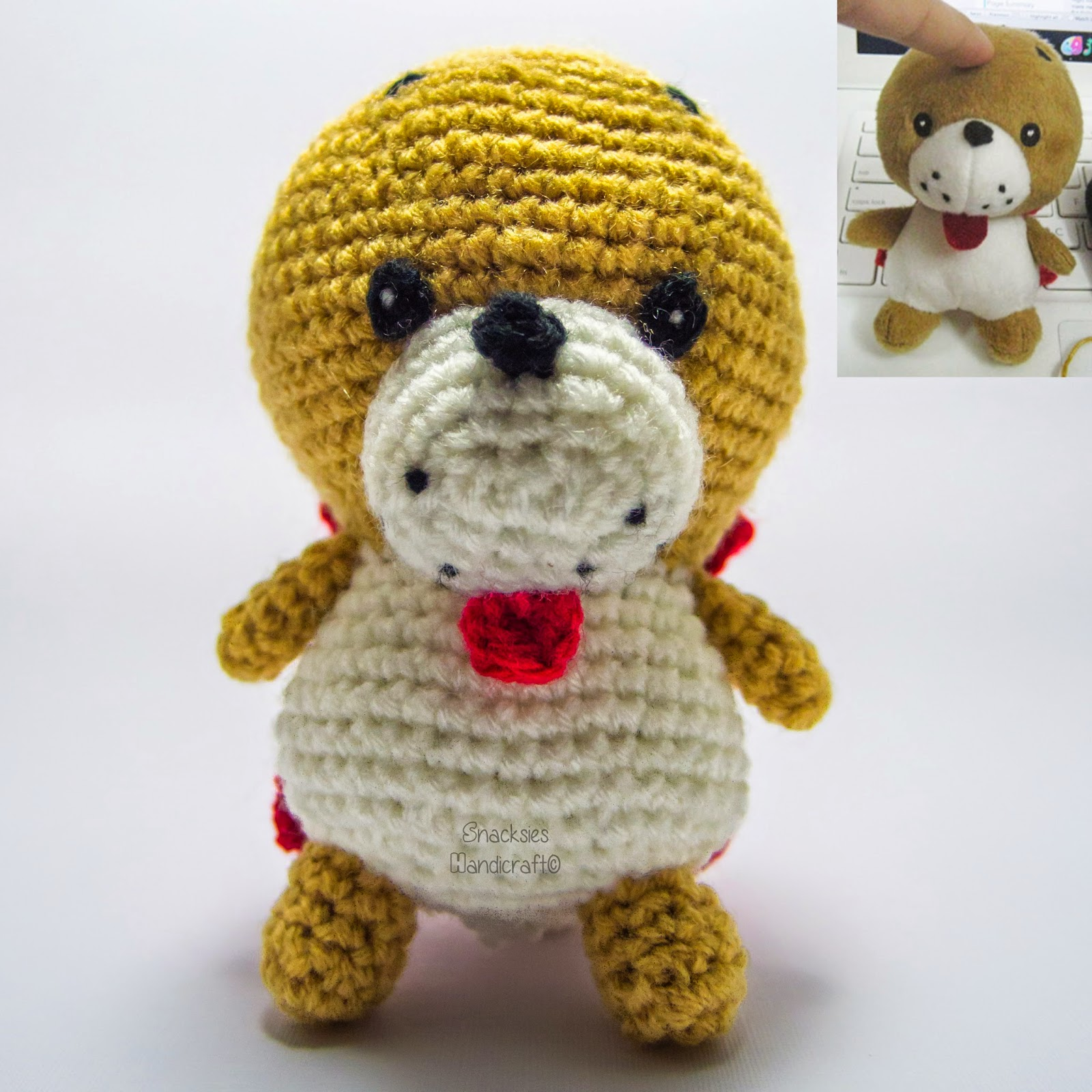 Crocheted Replica of Toy - Kiwatarou (???) Amigurumi ...