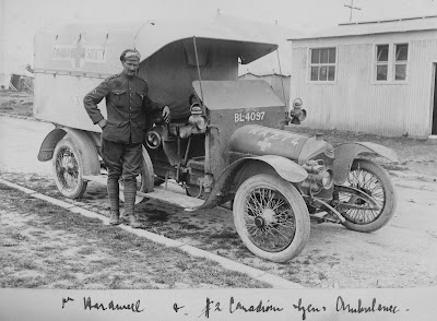 ww1 36V Canadian Ambulance
