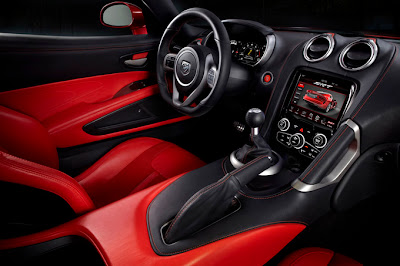 2013 SRT Viper Interior Design